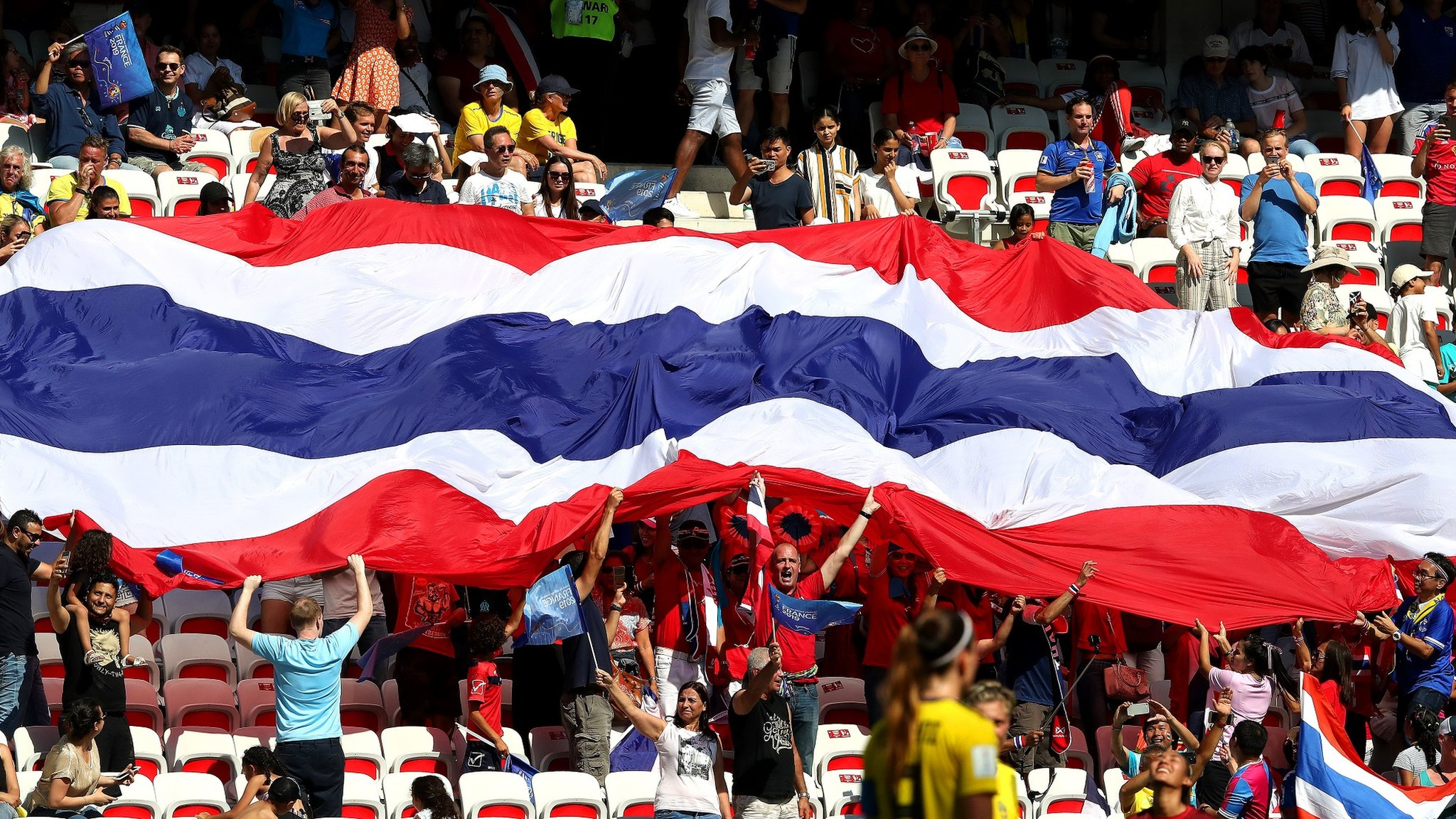 Women's World Cup: Thailand's moment of redemption after USA thrashing