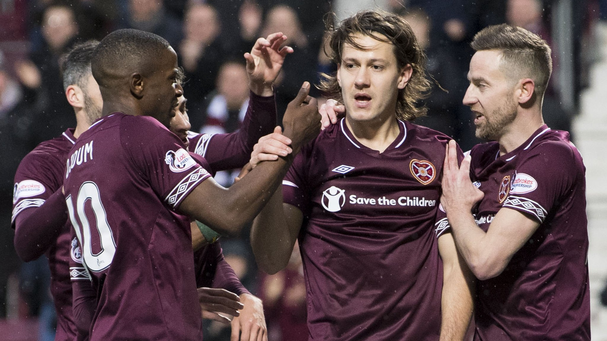 Hearts 1-0 Motherwell: Tynecastle side earn first win in seven matches