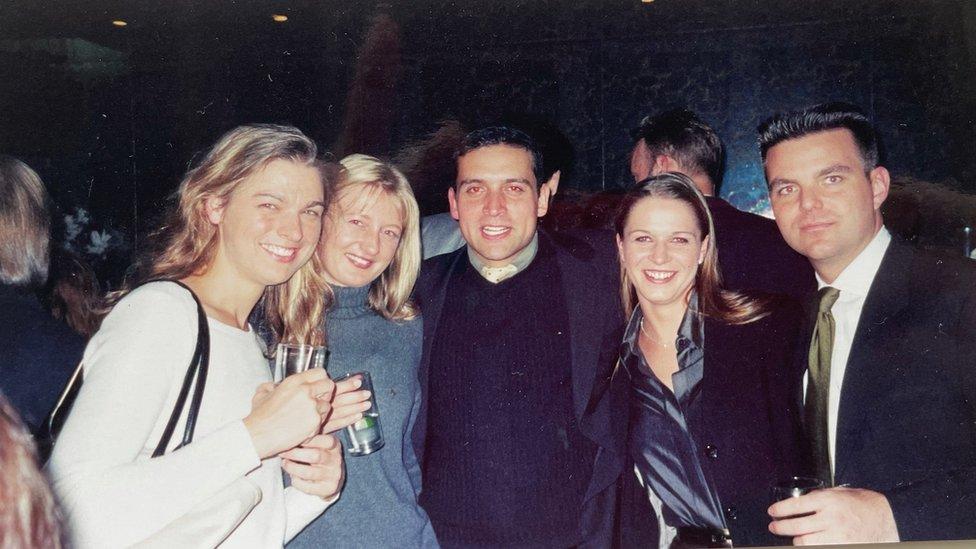 Hans Gernot Schenk with friends 2001
