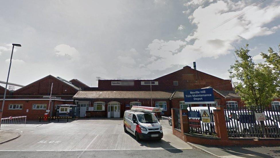 Neville Hill rail depot