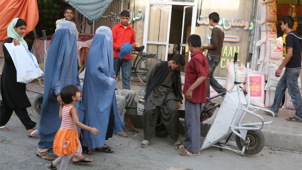 شارع في كابول