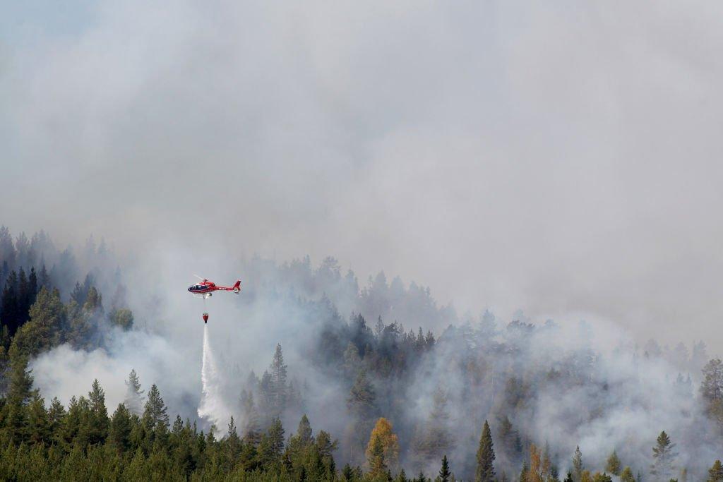 Пожежі у Швеції