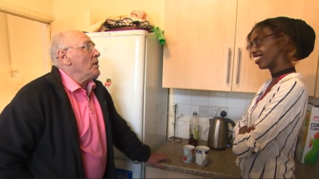 Cardiff support worker helps man, 67, get his life back