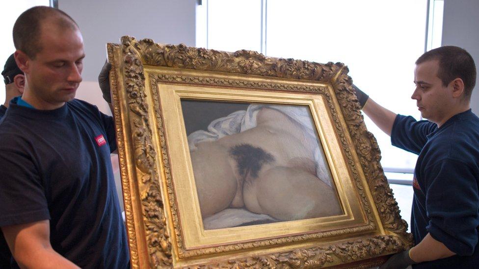 Le Origine du Monde en el Museo de Orsay