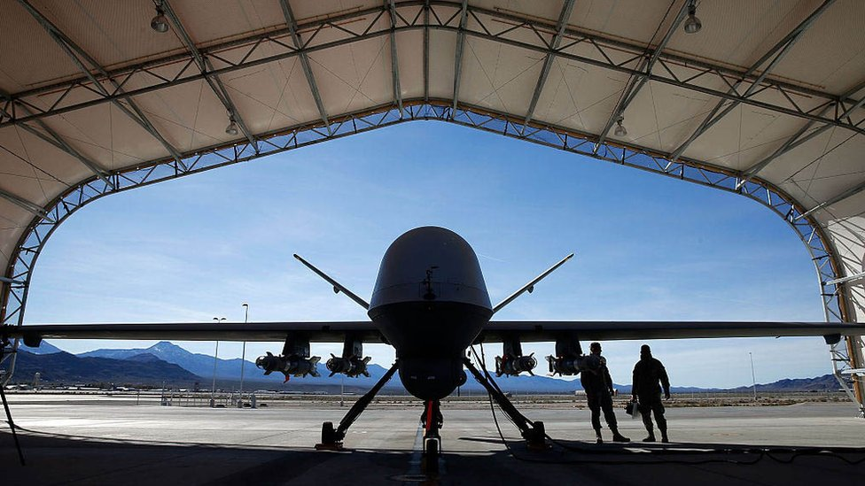 Drone at Creech Air Force Base
