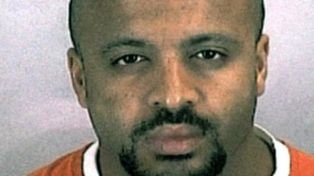 Zacarias Moussaoui, convicto en la prisión de Colorado.