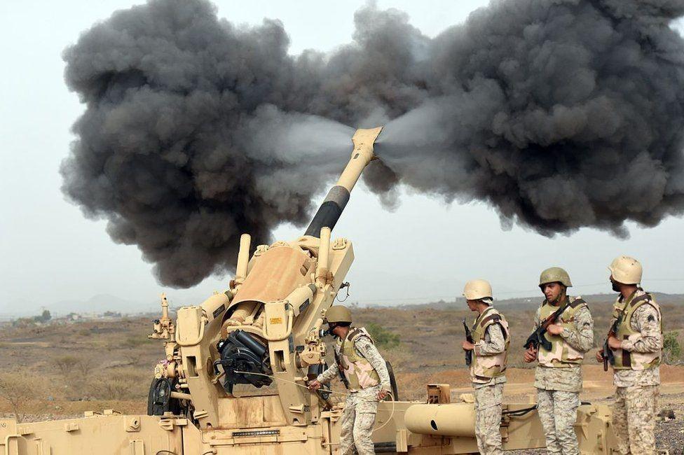 Soldados sauditas