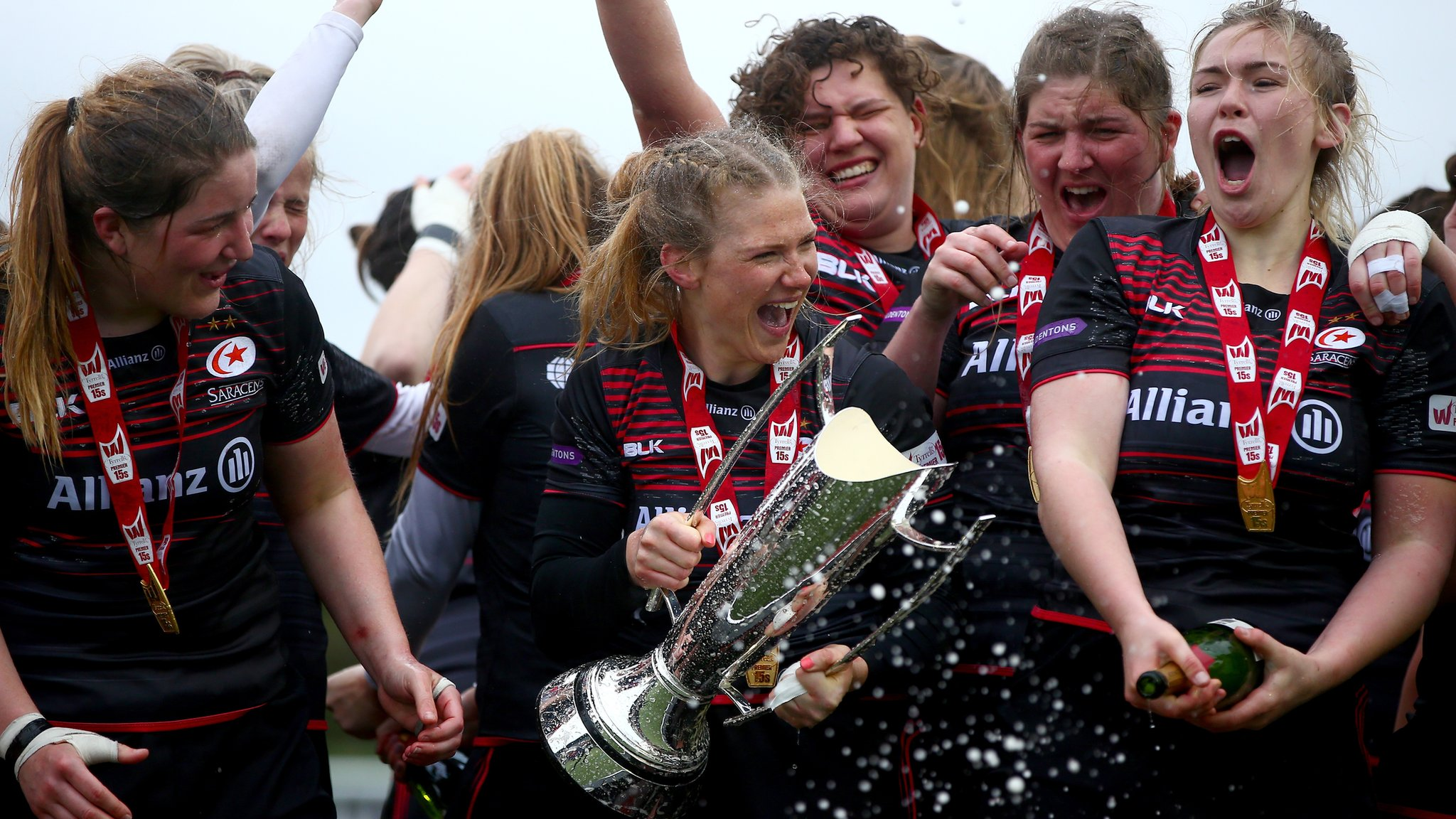 Saracens and Loughborough maintain 100% start in Premier 15s