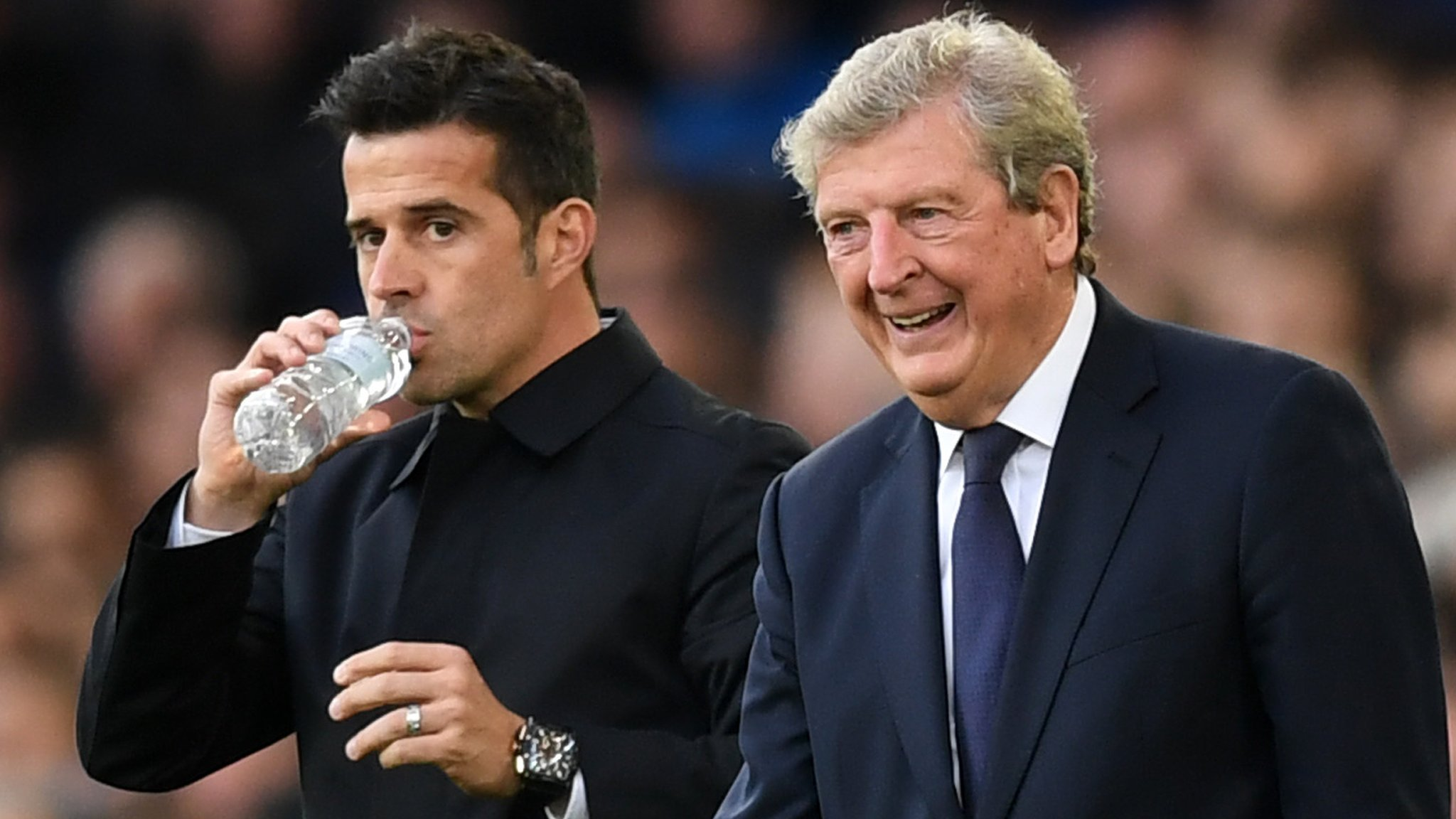 'Hard to stand here a loser' says Hodgson after late Everton double sinks Palace