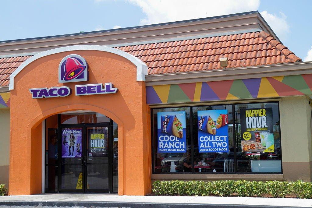 Un restaurante Taco Bell