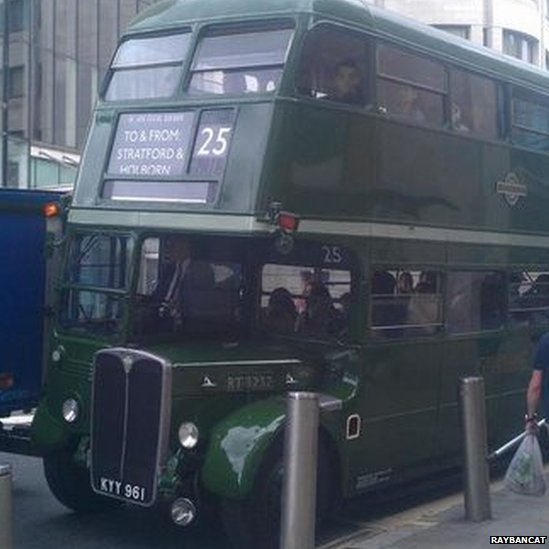 Green Routemaster