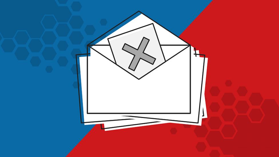 Mail ballots