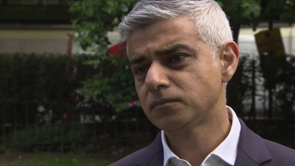 Sadiq Khan: Donald Trump a 'poster boy' for racists