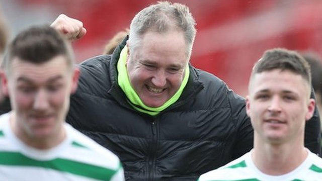 Lurgan Celtic manger Colin Malone