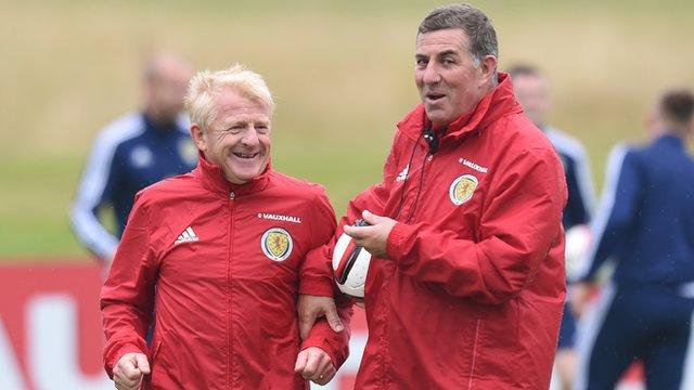 McGhee: 'Strachan a brilliant coach'