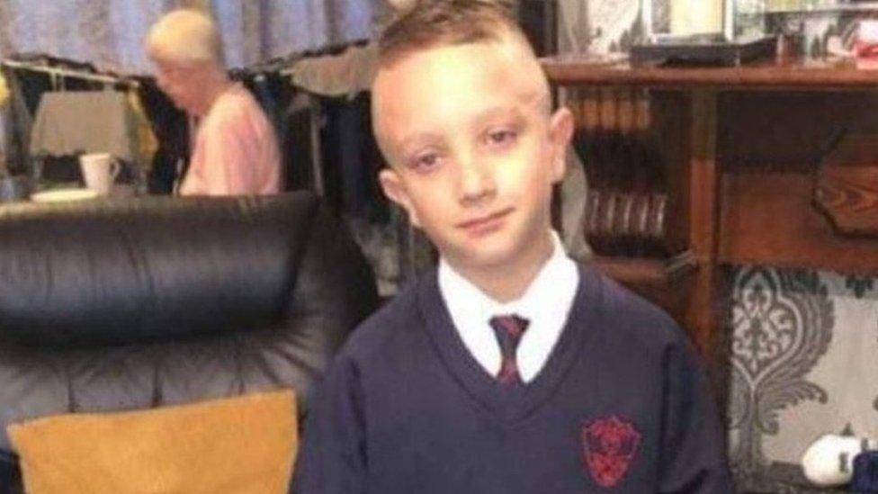 Family handout of Steven Duffield