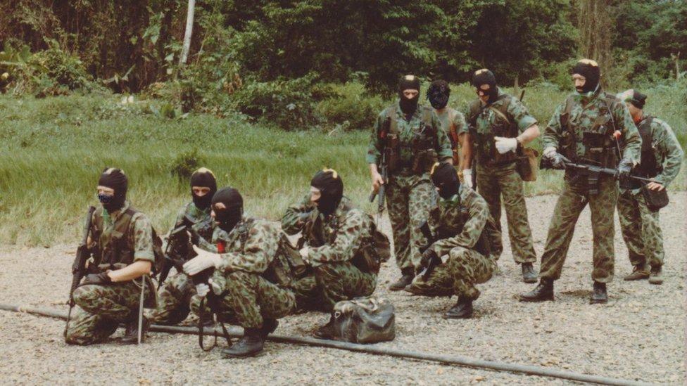 Los mercenarios entrenaron en Colombia para ejecutar el ataque.