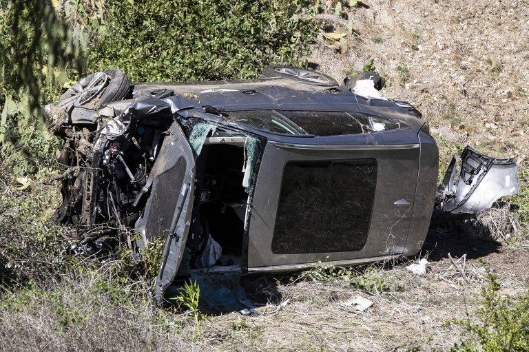 El vehículo quedó destruido.