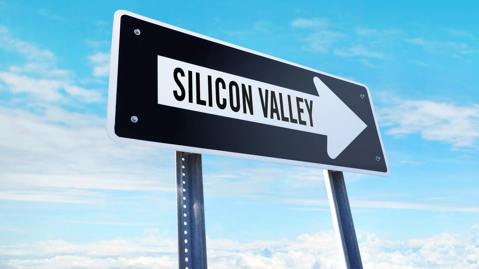Letrero que dice Silicon Valley