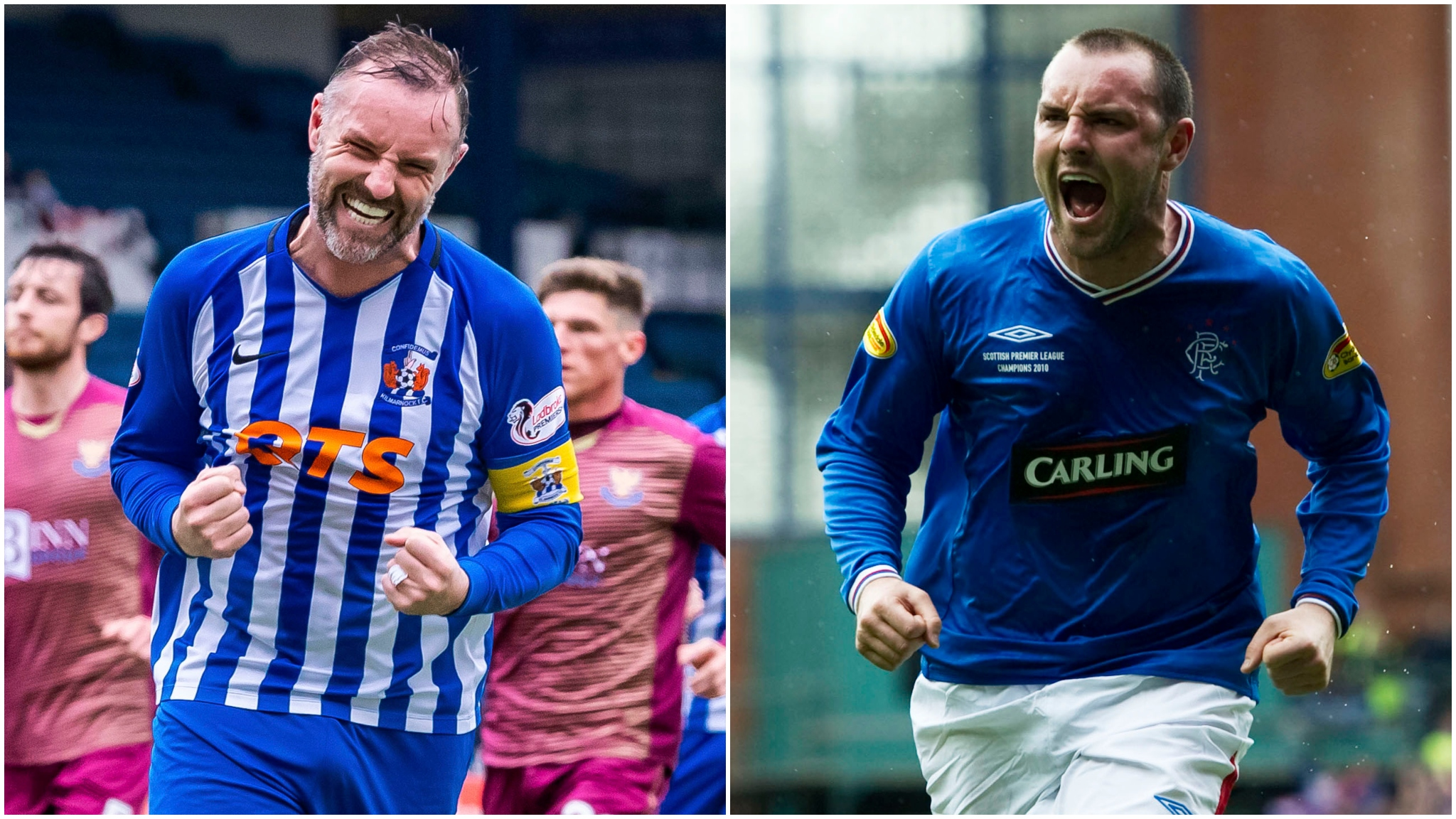 Kris Boyd: Kilmarnock and former Rangers and Scotland striker retires