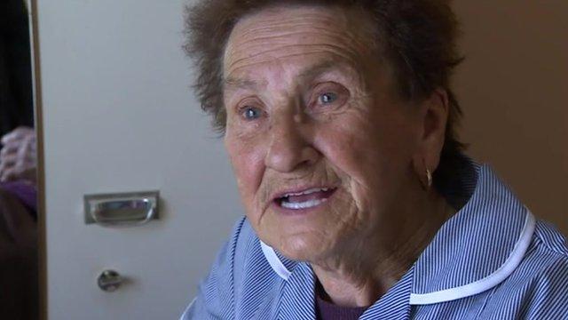 Carer, 84, Eileen Haysham, from Bridgwater
