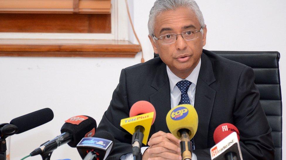 Mauritian premier Pravind Kumar Jugnauth
