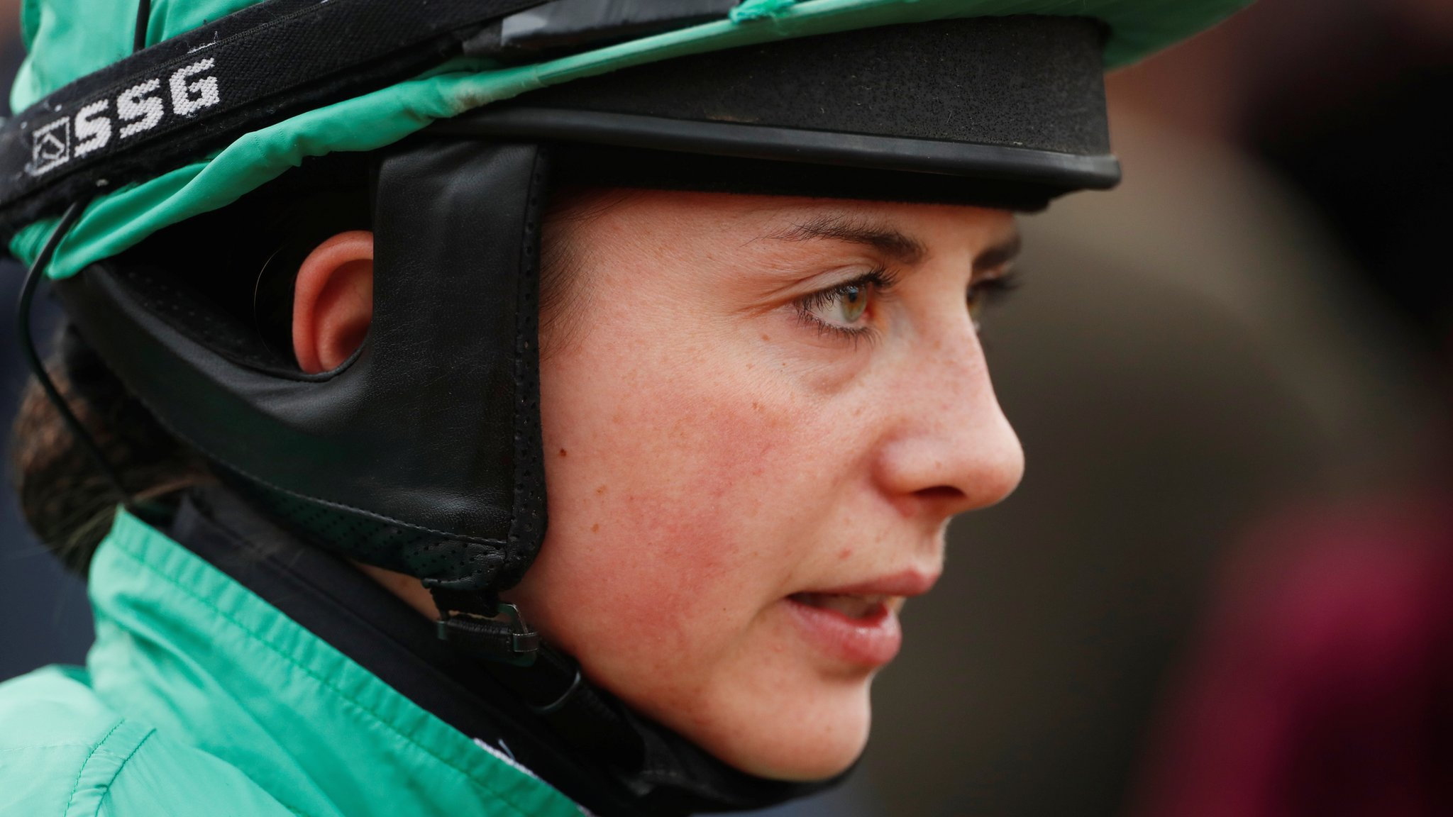 Bryony Frost: Jockey to see shoulder specialist after fall