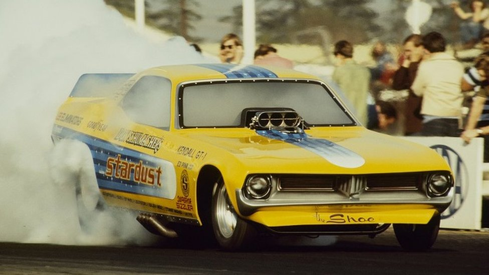 Stardust drag racing car chassis stolen from Santa Pod