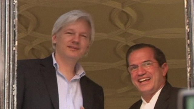 Library of Julian Assange at the Ecuadorian Embassy
