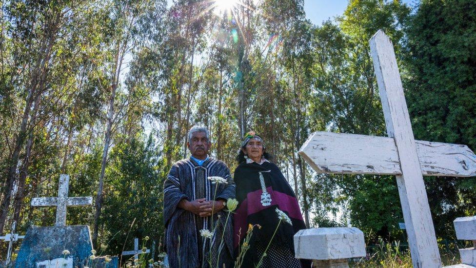 Entierro mapuche