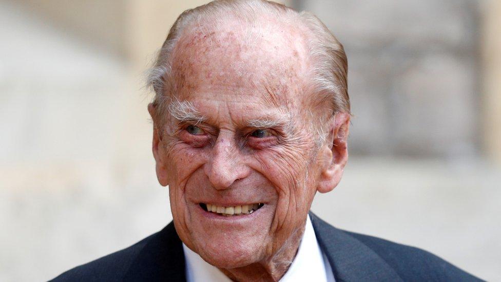 Príncipe Felipe en 2020.