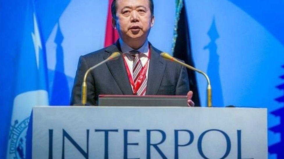 انتخب مينغ رئيسا لإنتربول قبل عامين