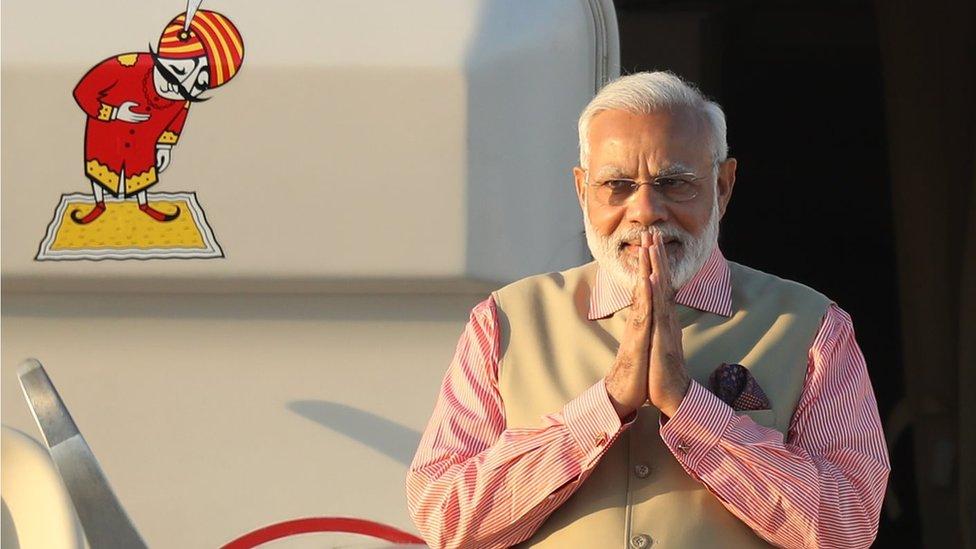 Mr Modi became India´s PM in 2014
