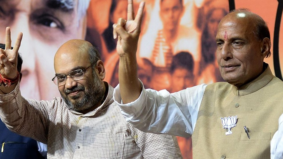 लोकसभा चुनाव 2019: अमित शाह इस बार राजनाथ सिंह के लिए क्यों हैं ख़तरा- नज़रिया