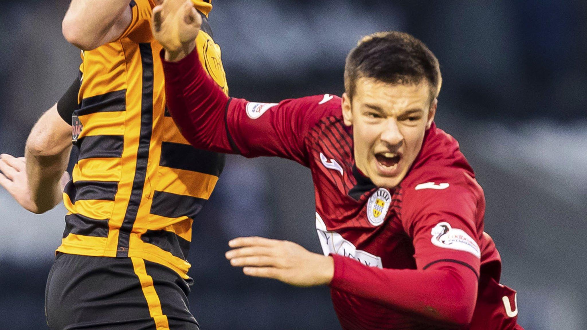 St Mirren's Lyons has debut 'dive' card rescinded
