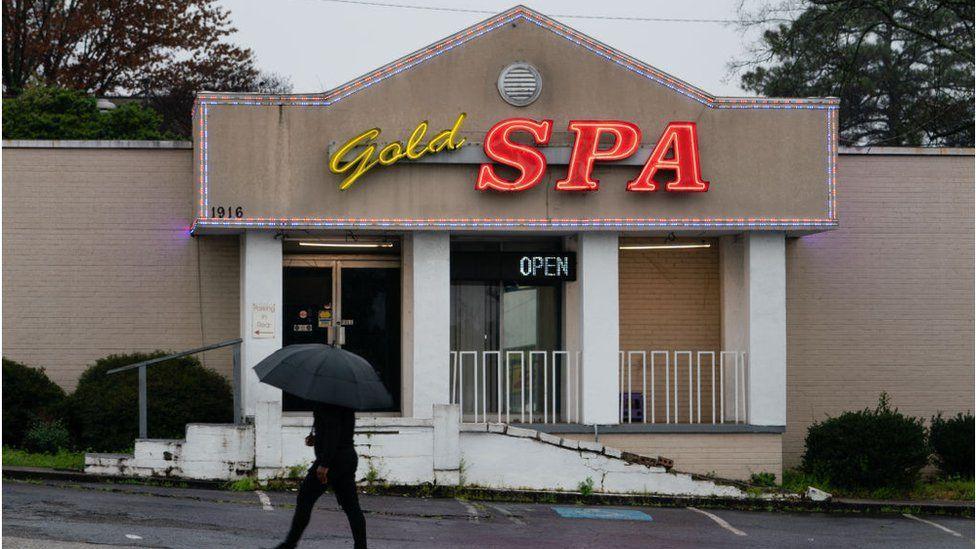 Gold Spa masaj salonu saldırganın ikinci hedefiydi