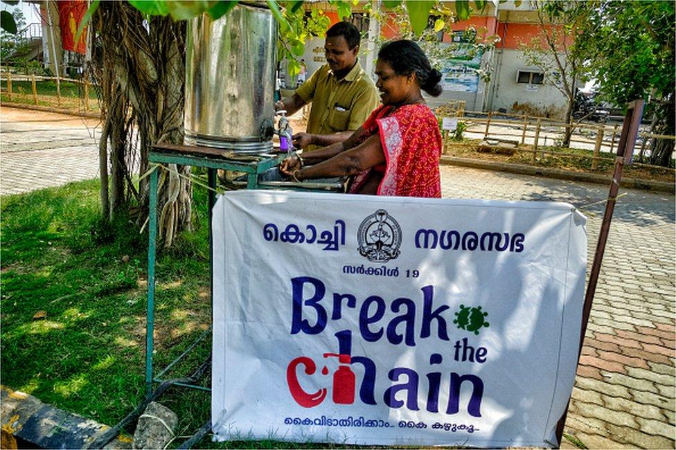 Kerala covid campaign