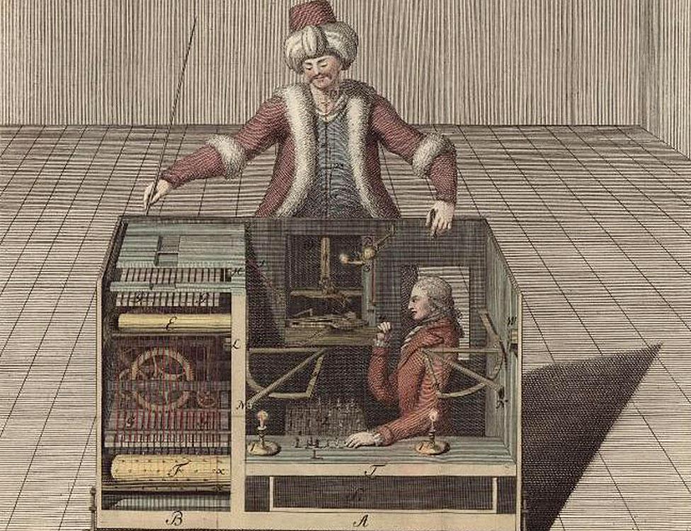 Satranç ustası 'Türk' bir aldatmaca olsa da bundan yüzlerce yıl önce yapay zekânın sorgulanmasını sağlamıştı.