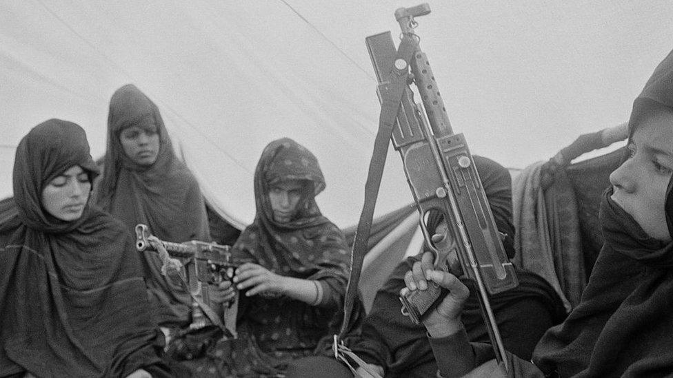 Mujeres del Frente Polisario