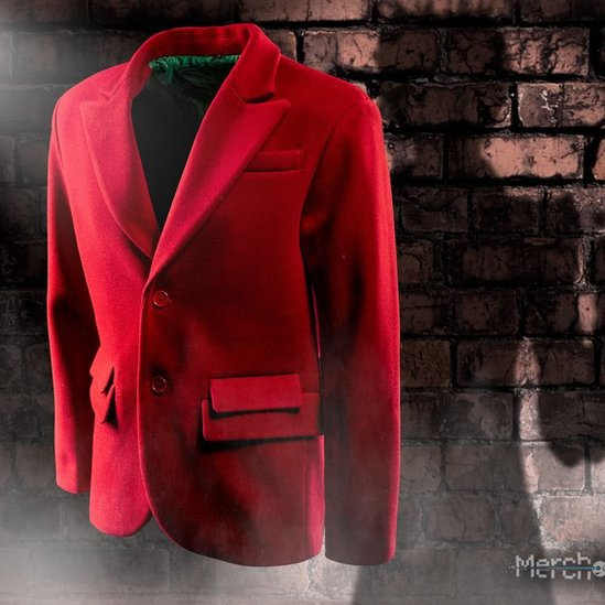 Replica of Joker's maroon blazer