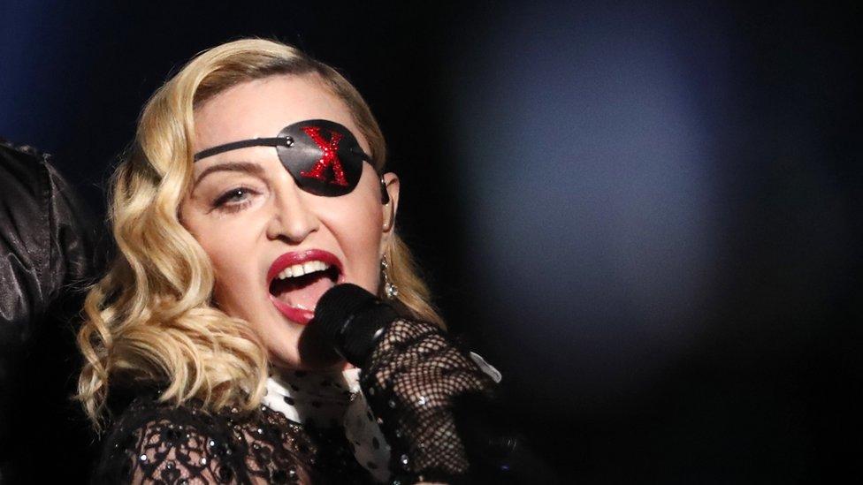 Madonna en los premios Billboard el 1 de mayo de 2019