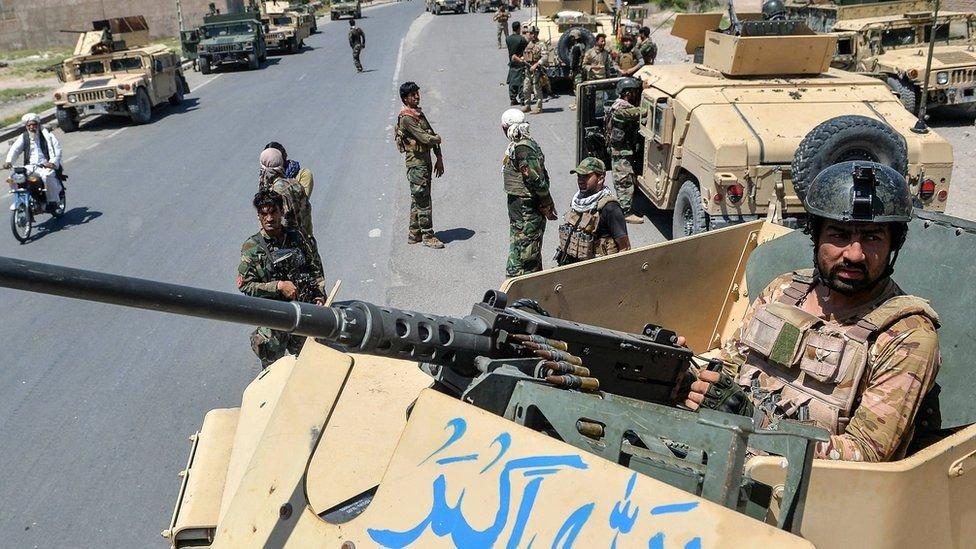 قوات حكومية افغانية