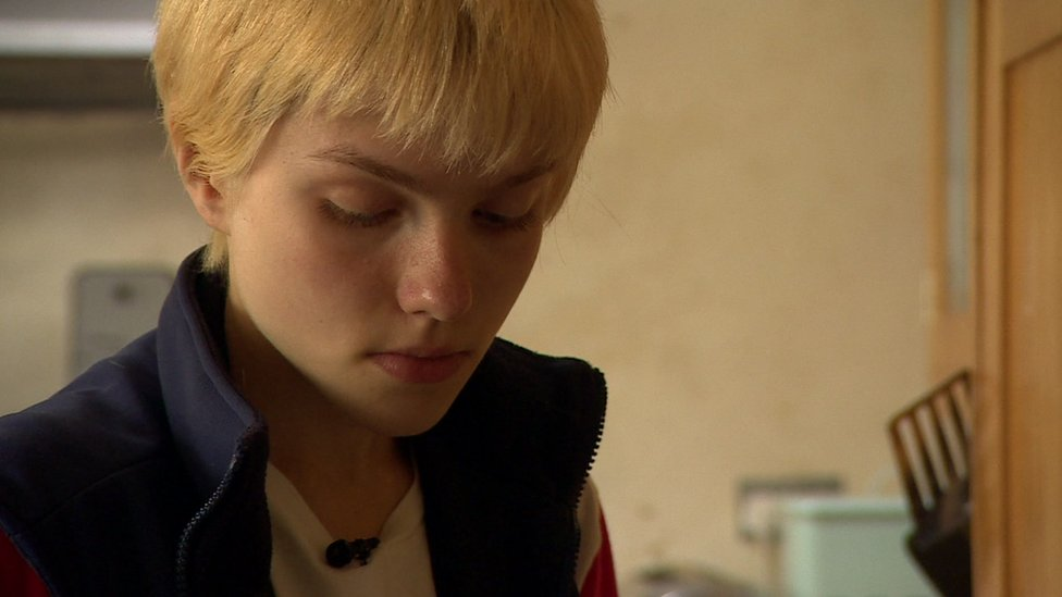 Millie is 14 and was diagnosed with Asperger's syndrome two years ago