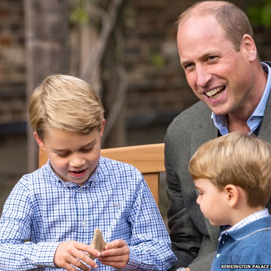 Prince George, Prince William, Prince Louis