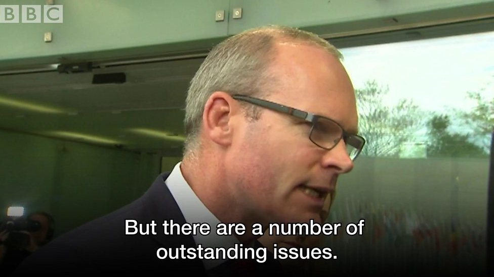 'There are a number of outstanding issues'