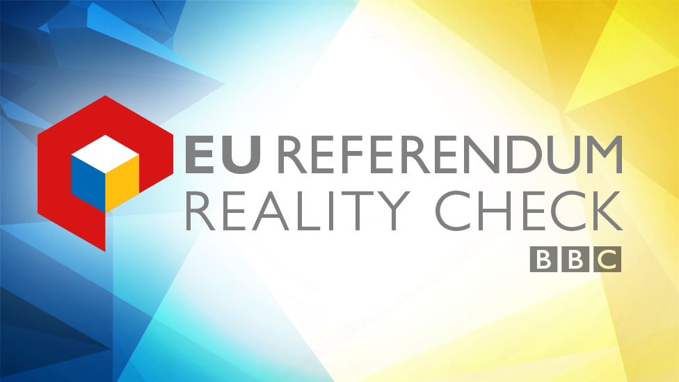 EU Referendum Reality Check graphic