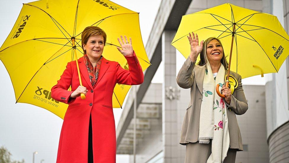 نيكولا ستيرجن، الوزيرة الأولى في اسكتلندا