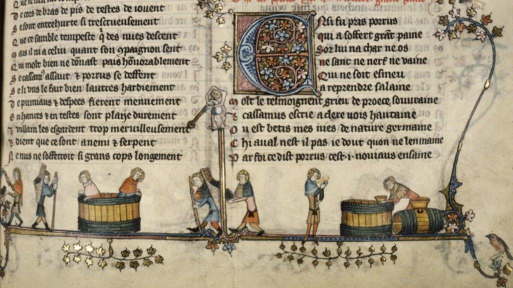 14. yüzyıl Hollanda şarap yapımıyla ilgili el yazmalarında Sisteryen rakamlar kullanılıyordu
