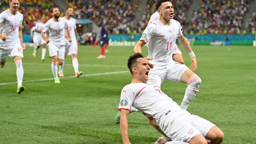 Swiss celebrate