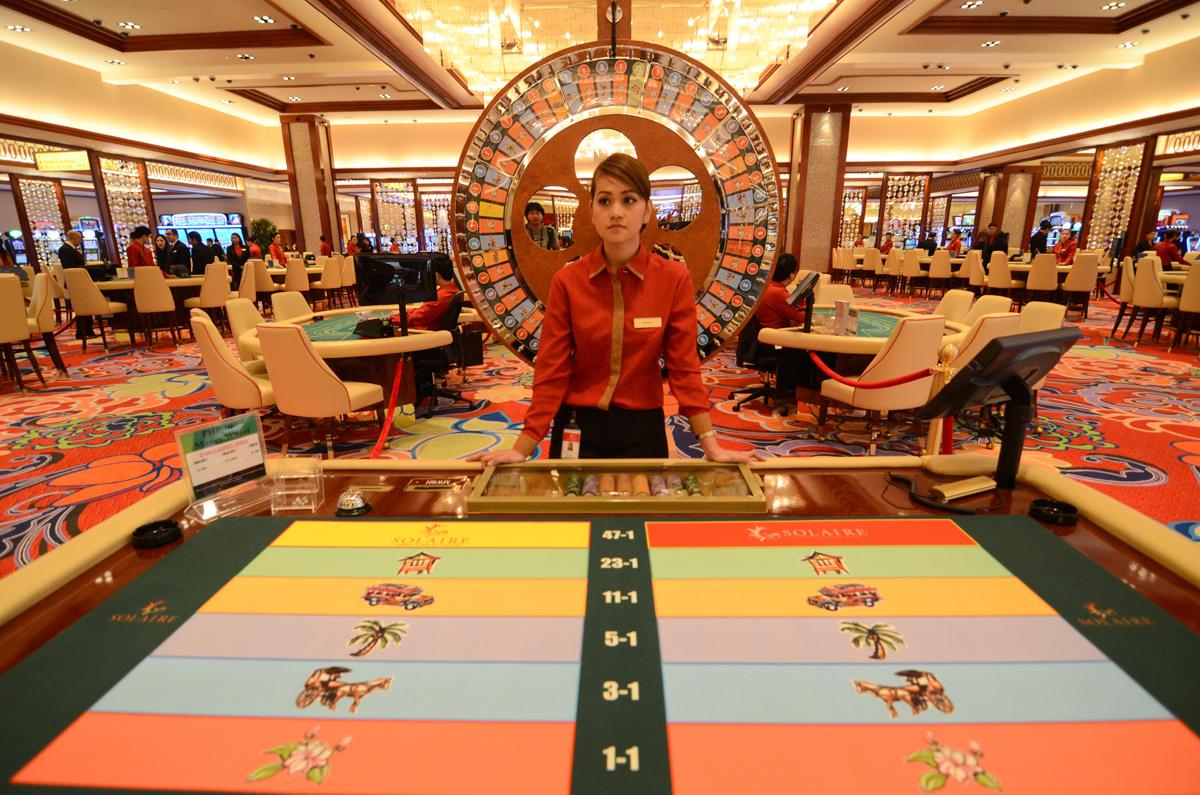 The Solaire casino